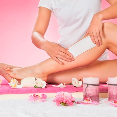 Full body waxing with optional Gelish mani pedi or Facial Treatment